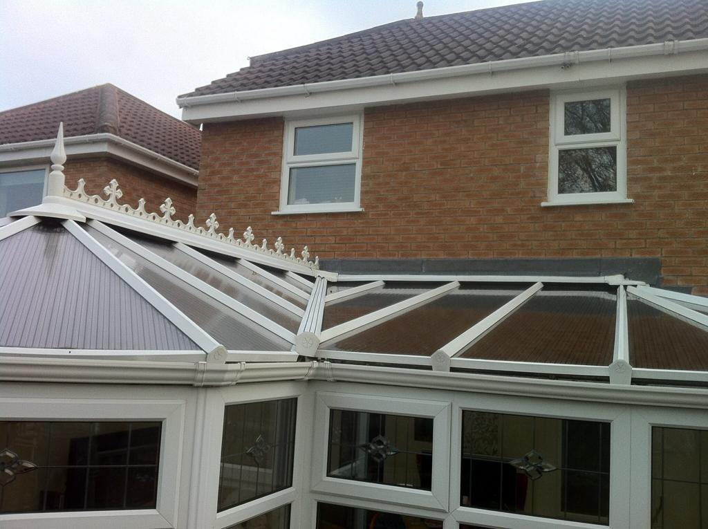 Clean Conservatory Windows